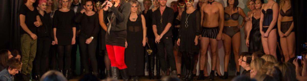 Umeå Fashion Week – Modeshow på äpplet
