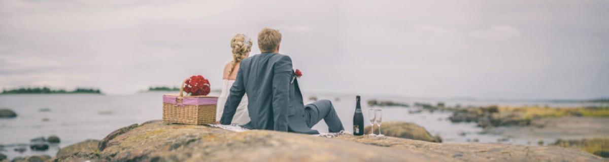 Sandra och Robins heldagsbröllop i Norrmjöle