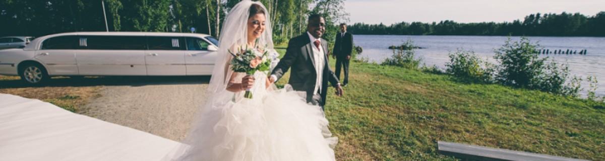 Hande och Frederics bröllop vid Fabriken