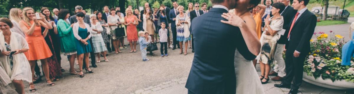 Josefin och Petters bröllop i Backens kyrka