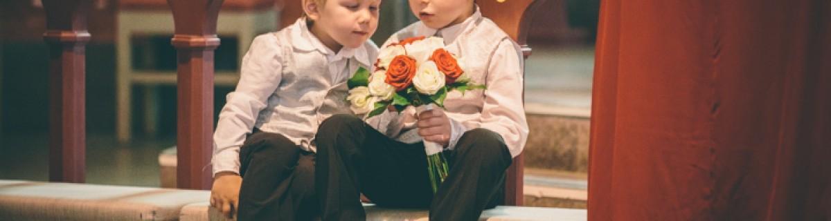 Malin och Bennys bröllop i Backens kyrka