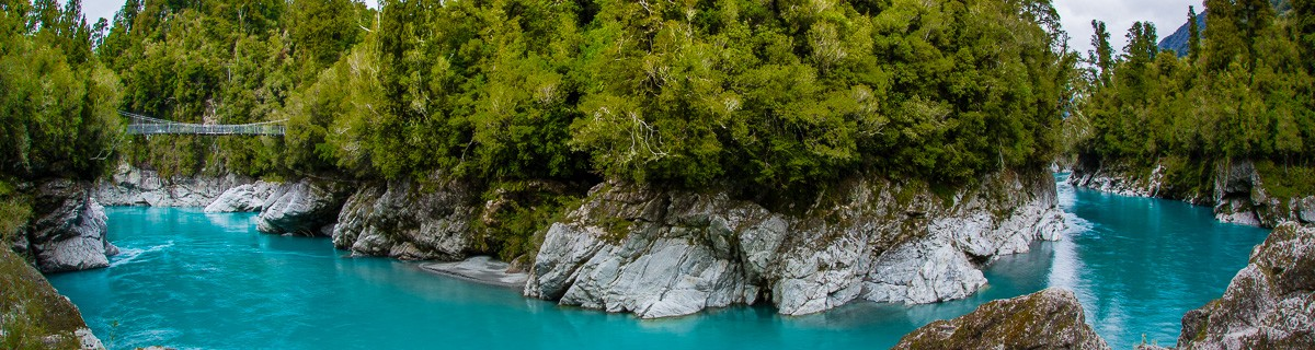 Fotoresa – Nya Zeeland – Hokitika Gorge